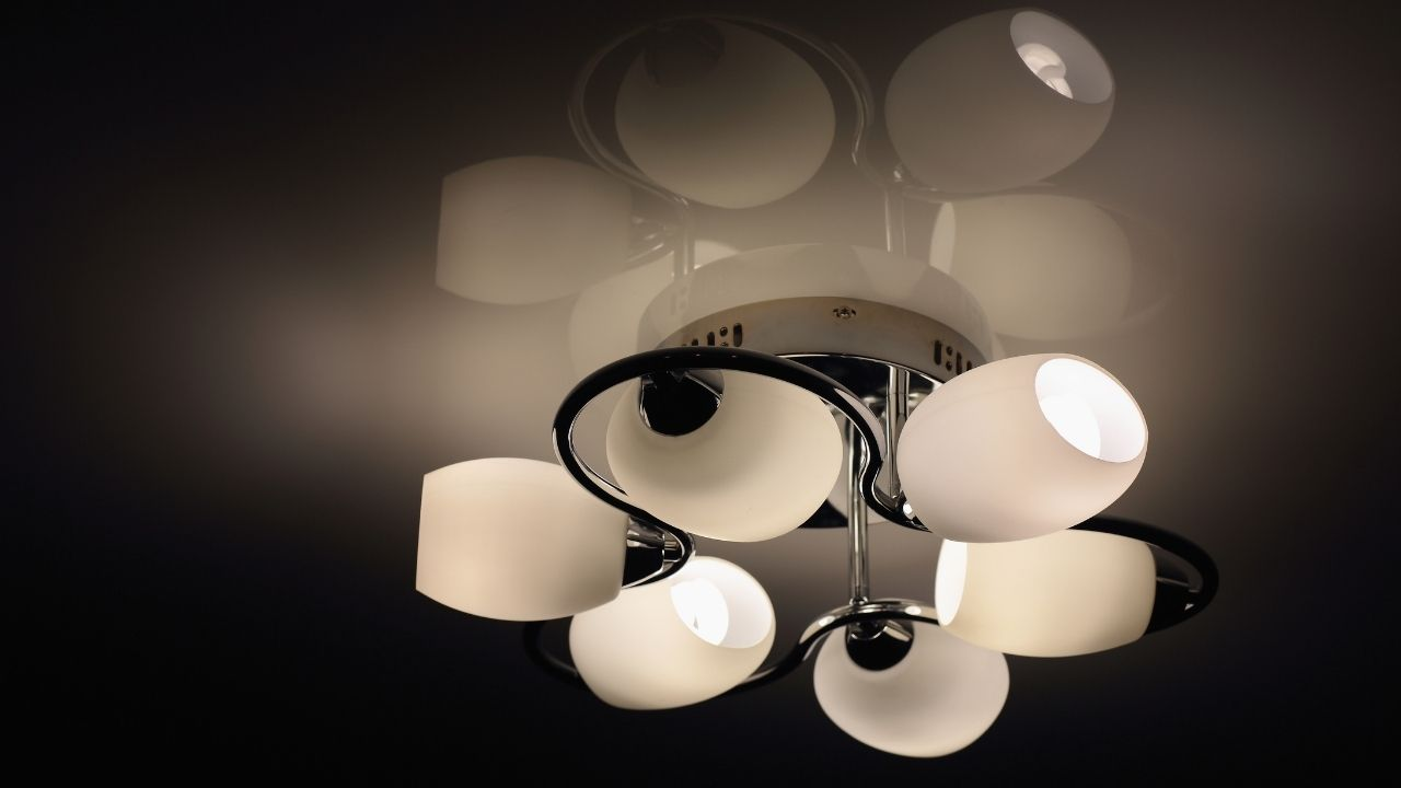 types of ceiling lights