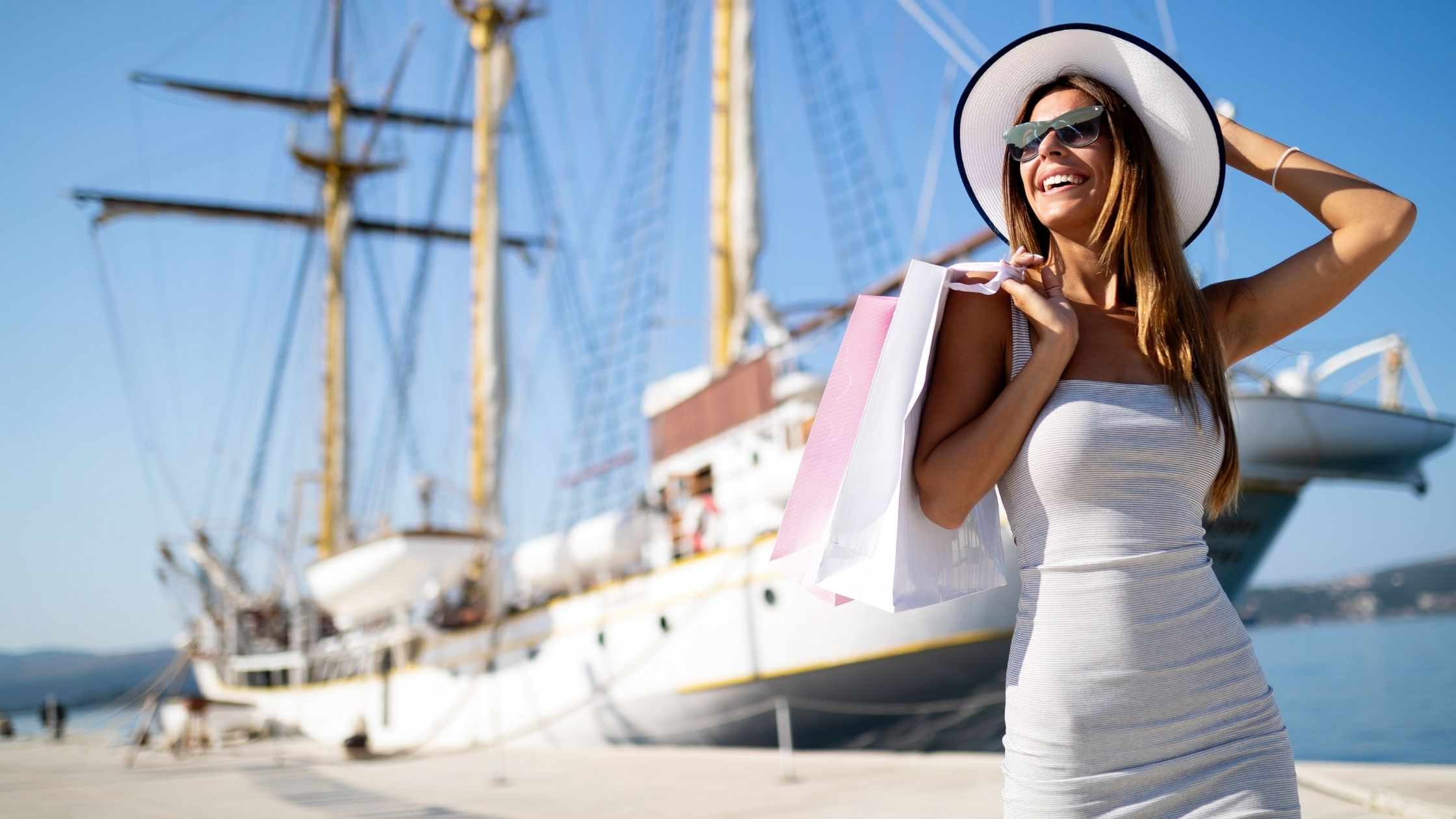 a woman living a lavish lifestyle